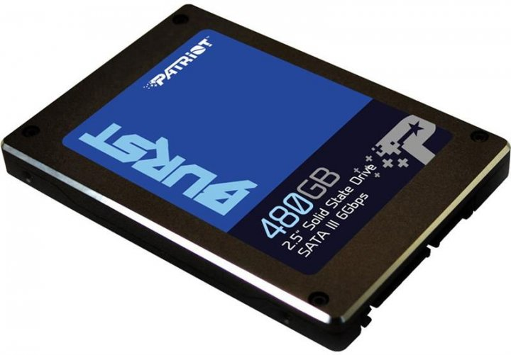 "SSD накопитель 480GB Patriot Burst 2.5"" SATAIII 3D TLC (PBU480GS25SSDR) - изображение 1"