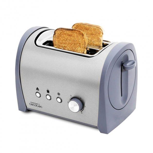 Тостер CECOTEC Steel&Toast 2S - изображение 1