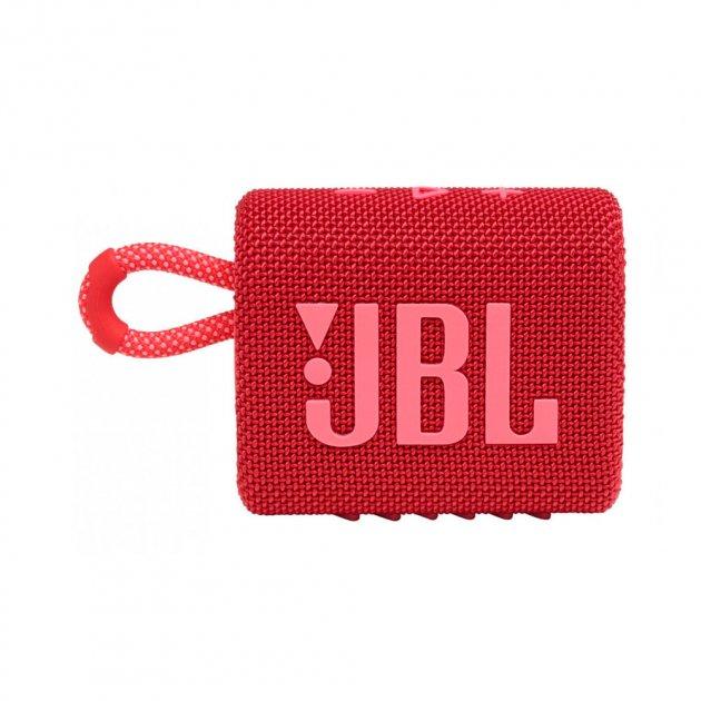 Портативная акустика JBL GO 3 Red (JBLGO3RED) - изображение 1