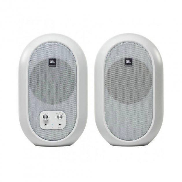Студийный монитор (пара) JBL One Series 104 Bluetooth White (104SET-BTW-EU) - изображение 1