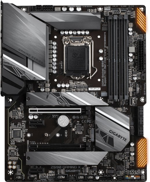 Материнська плата Gigabyte Z590 Gaming X (s1200, Intel Z590, PCI-Ex16) - зображення 1