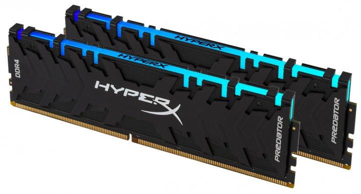 Оперативна пам'ять HyperX DDR4-3200 16384MB PC4-25600 (Kit of 2x8192) Predator RGB (HX432C16PB3AK2/16) - зображення 1