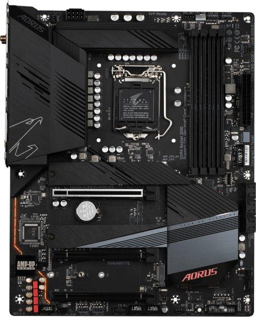 Материнська плата Gigabyte B560 Aorus Pro AX (s1200, Intel B560, PCI-Ex16) - зображення 1