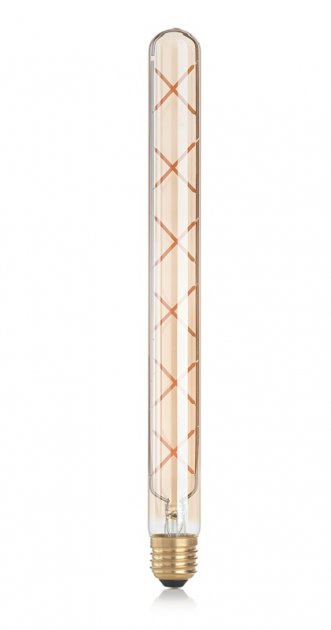 Світлодіодна лампа Ideal Lux Vintage E27 6W Linear 2200K (201252) - зображення 1