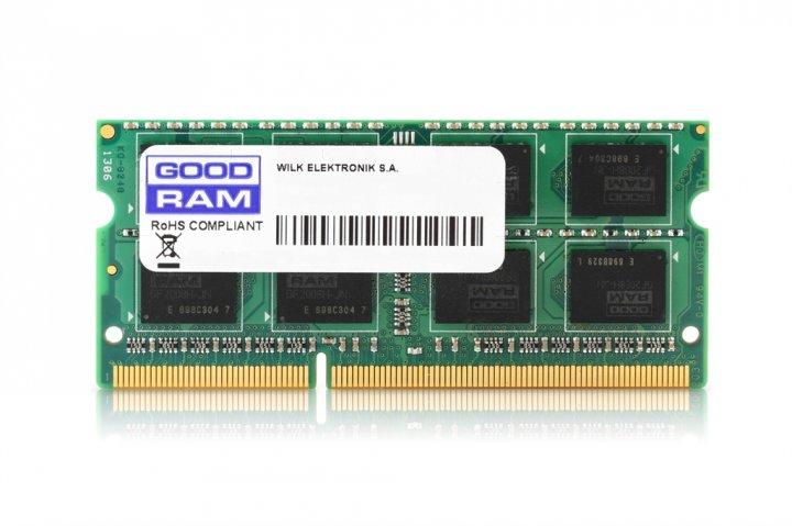 Модуль памяти SO-DIMM 8Gb DDR3 1333 GOODRAM (GR1333S364L9/8G) - изображение 1