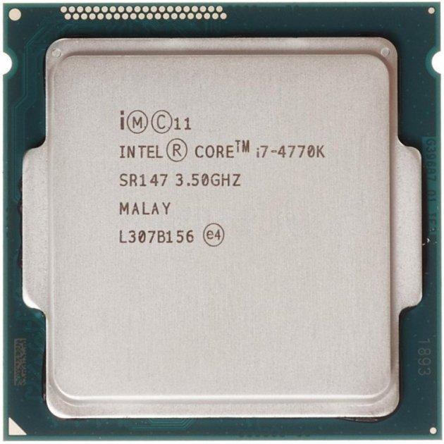 Процесор Intel Core i7-4770K 3.5 GHz/5GT/s/8MB (SR147) s1150, tray - зображення 1