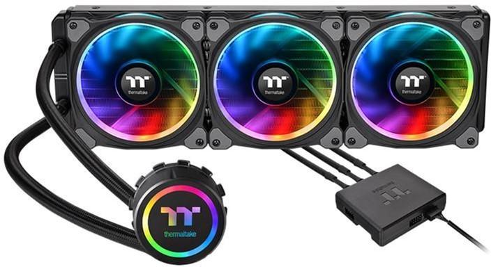 Система рідинного охолодження Thermaltake Floe Riing RGB 360 TT Premium Edition (CL-W158-PL12SW-A) - зображення 1