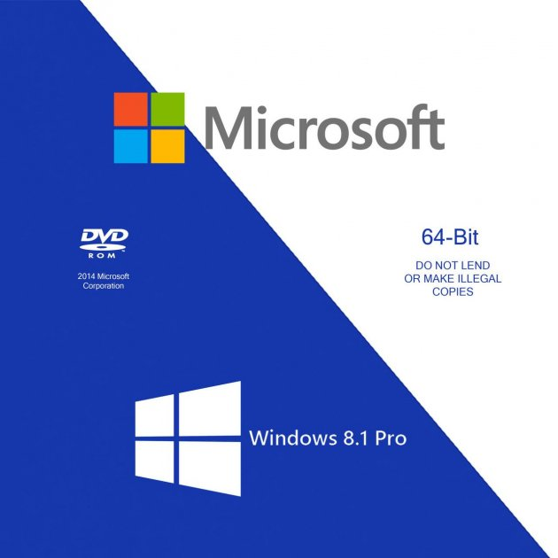 Microsoft Windows 8.1 Pro x64 Russian OEM (FQC-06930) - изображение 1