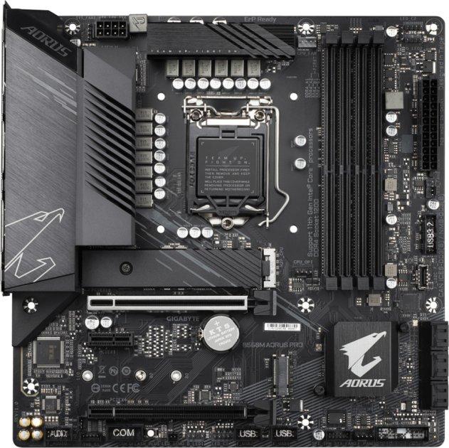 Материнська плата Gigabyte B560M Aorus Pro (s1200, Intel B560, PCI-Ex16) - зображення 1