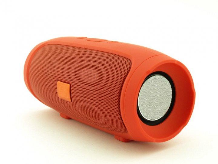 Портативная Bluetooth колонка T&G Portable Speaker MINI, c функцией громкая связь, FM радио, красная - изображение 1