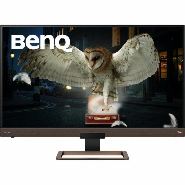 Монітор BENQ EW3280U Brown Metallic-Black (9H.LJ2LA.TBE) - зображення 1