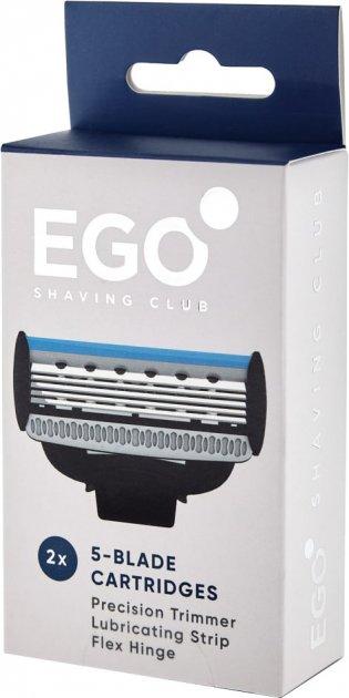Сменные картриджи для бритья (лезвия) мужские Ego Shaving Club 2 шт (860003484425)