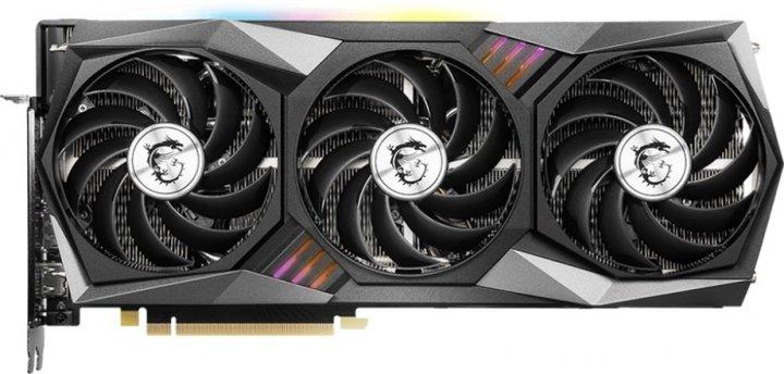 MSI PCI-Ex GeForce RTX 3060 Gaming Trio 12G 12GB GDDR6 (192bit) (1777/15000) (HDMI, 3 x DisplayPort) (RTX 3060 GAMING TRIO 12G) - зображення 1