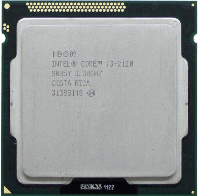 Процесор Intel Core i3-2120 3.3 GHz/3MB/5GT/s (SR05Y) s1155, tray - зображення 1