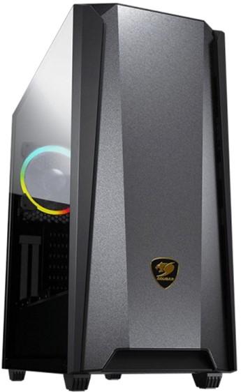 Корпус Cougar MX660 Iron RGB Dark Black - зображення 1