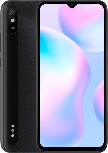 Мобильный телефон Xiaomi Redmi 9A 4/64GB Carbon Grey (Global ROM + OTA) - изображение 1