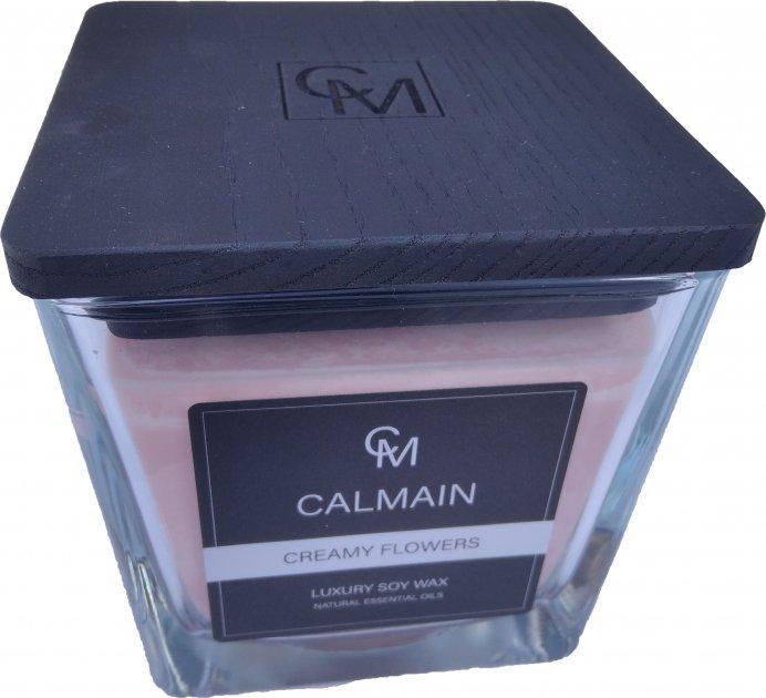 Ароматическая свеча Calmain 220 г Сливочные цветы (kI6217) - изображение 1