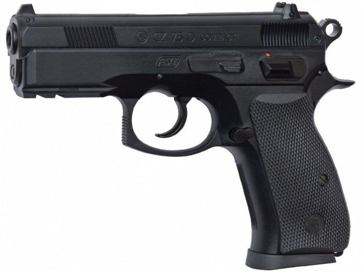 Пістолет пневматичний ASG CZ 75D Compact - зображення 1