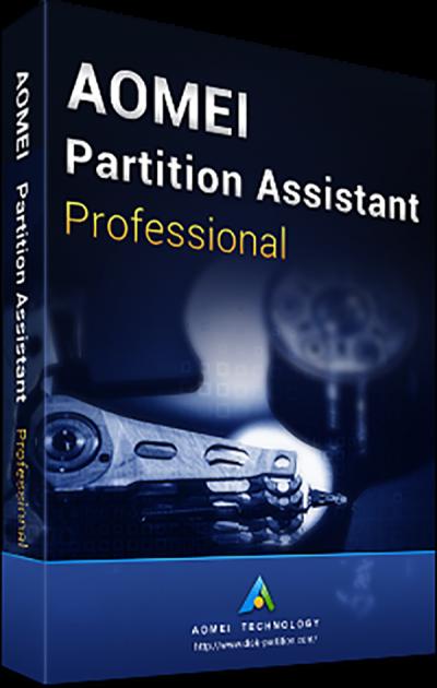 Системная утилита AOMEI Partition Assistant Professional (2 ПК), пожизненные обновления (PAP-01) - изображение 1