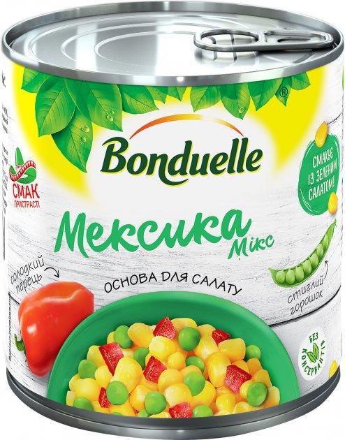 Овощная смесь Bonduelle Мексика Микс 340 мл (3083680715447) - изображение 1