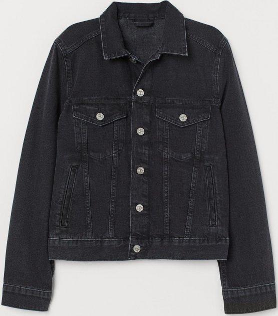 Джинсова куртка H&M 7356001-ACXD 32 Синя (3000003062415) - зображення 1