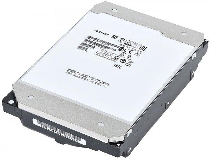 Жорсткий диск Toshiba Enterprise Performance 18TB 7200rpm 512MB MG09ACA18TA 3.5 SATA III - зображення 1