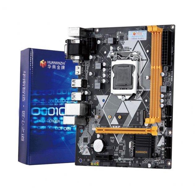 Материнська плата Huanan B85 (s1150, Intel B85, PCI-Ex16) M.2 DVI/VGA/HDMI - изображение 1