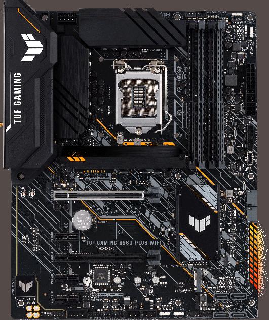Материнская плата Asus TUF Gaming B560-Plus Wi-Fi (s1200, Intel B560, PCI-Ex16) - изображение 1