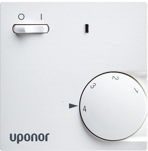 Аналоговый термостат Uponor Comfort E Thermostat Dial Set T-85 230 В (1088705) - изображение 1