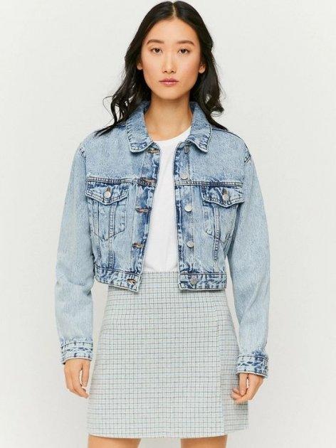 Джинсовая куртка Tally Weijl SJADEBOXY-EHBL XS (7612959111596) - изображение 1