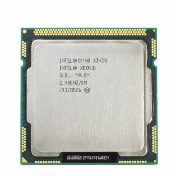 Процесор Intel Xeon X3430 (аналог i5-750) (S1156/4x2.4GHz/2.5 GT/s/8MB/95Вт/BX80605X3430) Б/У - зображення 1