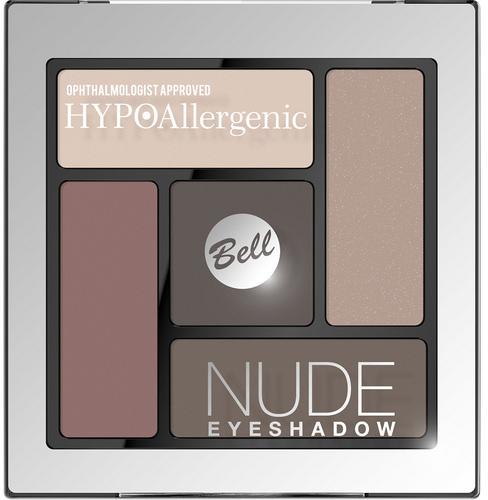 Тени для векатласно-кремовые Bell HypoAllergenic Nude Eyeshadow№01 Neutral Cool 5 г (5902082513803) - изображение 1