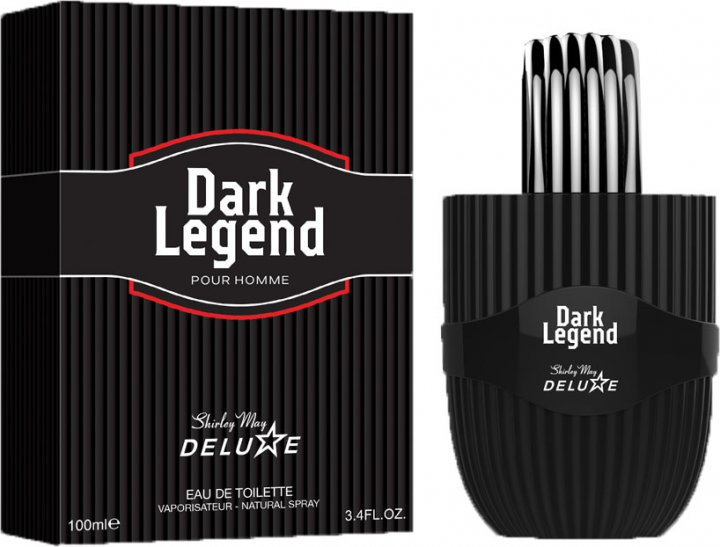Туалетная вода для мужчин Shirley May Deluxe Dark Legend 100 мл (MM39110) (6295124029233) - изображение 1