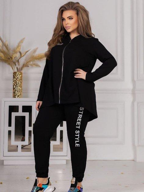 Спортивный костюм Vojelavis 148 48 Черный (2000000580814_ELF) - изображение 1
