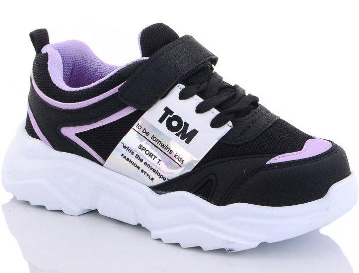 Кросівки Tom Wins T4-11 33 Чорно-фіолетовий - зображення 1