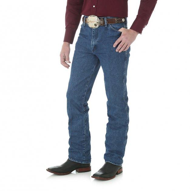Вузькі чоловічі джинси Wrangler Cowboy Cut – Stonewashed W32 L32 (936gbk) - зображення 1