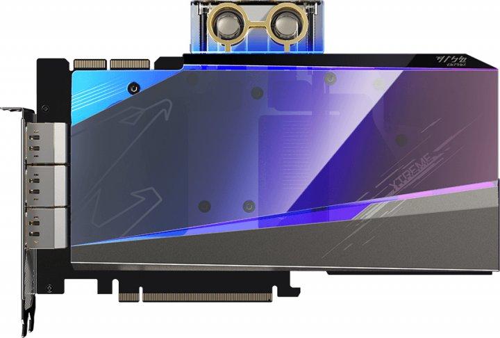 Gigabyte PCI-Ex GeForce RTX 3090 Aorus Xtreme Waterforce WB 24GB GDDR6X (384bit) (1785/19500) (3 х HDMI, 3 x DisplayPort) (GV-N3090AORUSX WB-24GD) - зображення 1