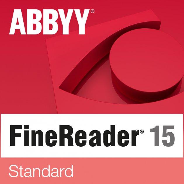 ABBYY FineReader 15 Standard Upgrade. Лицензия на обновление (ESD - электронная лицензия) - изображение 1