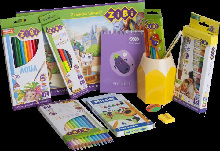 Набор для рисования карандашами ZiBi Pro (ZB.9956) - изображение 1