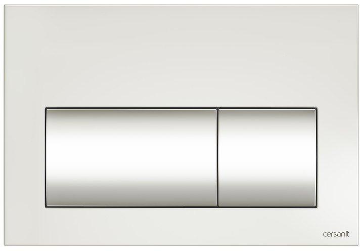Панель смыва CERSANIT Presto K97-349 белая - изображение 1