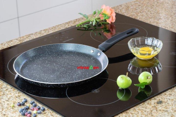 Cковорода для блинов Edenberg 22 см с мраморным антипригарным покрытием (EB-3385) - изображение 1