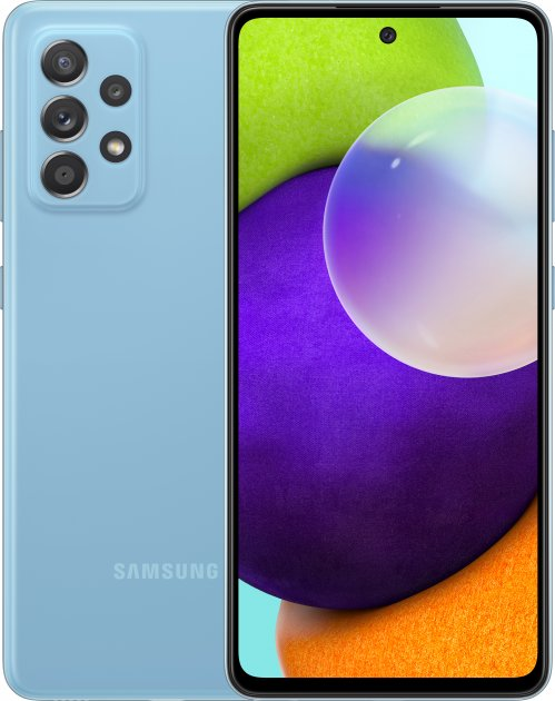 Мобильный телефон Samsung Galaxy A52 4/128GB Blue - изображение 1