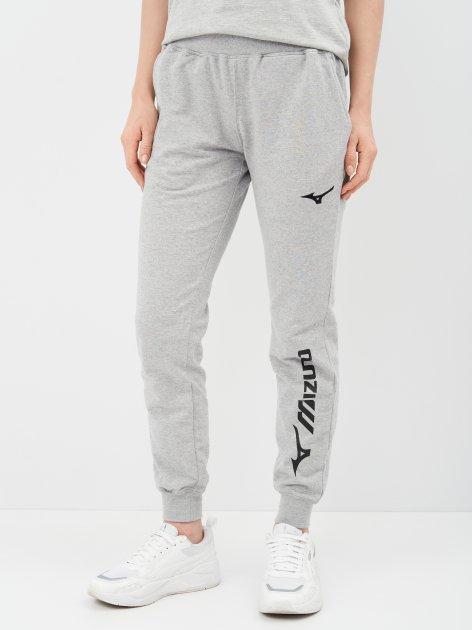 Спортивные штаны Mizuno Mizuno Terry Pant W 32ED9C6507 XS Серые (5054698758632) - изображение 1