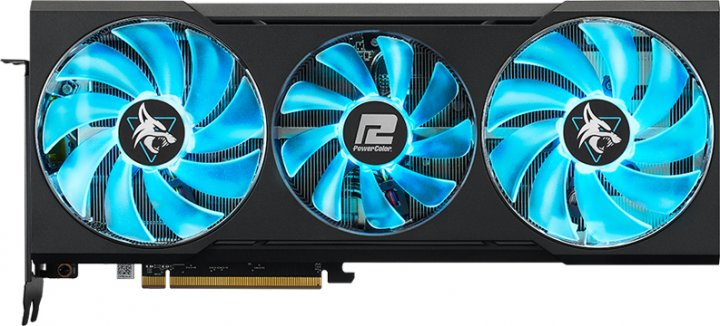 PowerColor PCI-Ex Radeon RX 6700 XT Hellhound 12GB GDDR6 (192bit) (2424/16000) (HDMI, 3 x DisplayPort) (AXRX 6700XT 12GBD6-3DHL) - зображення 1