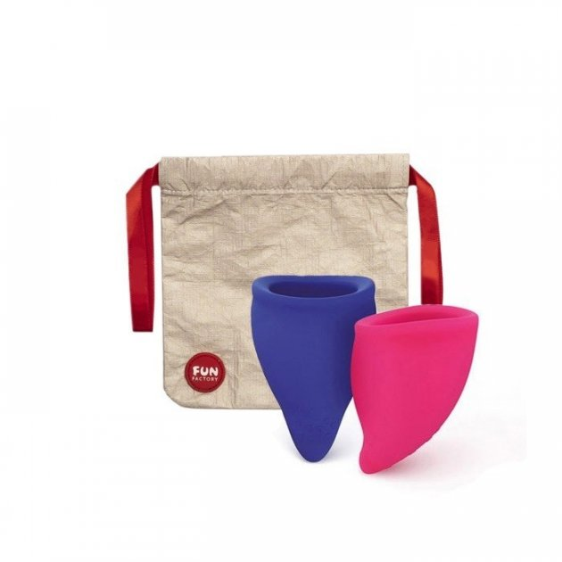 Набор менструальных чаш Fun cup размер А и B (95003) - изображение 1