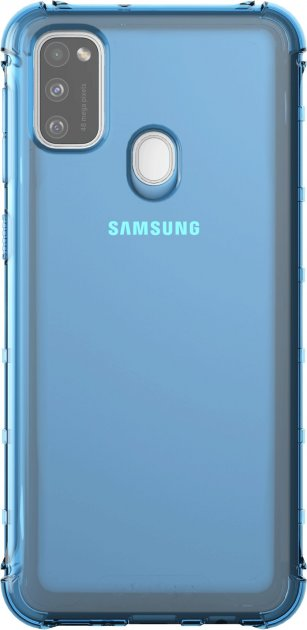 Панель Samsung KD Lab M Cover для Samsung Galaxy M21 Blue (GP-FPM215KDALW)