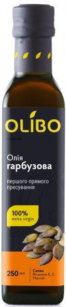 Масло из семян тыквы Olibo 250 мл (4820184310025) - изображение 1