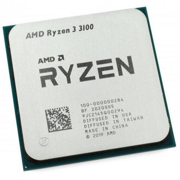 Процессор AMD Ryzen 3 3100 (3.6GHz 16MB 65W AM4) Tray (100-000000284) - зображення 1