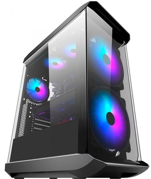 Корпус 1STPLAYER X8 RGB LED Black - зображення 1