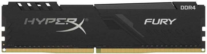 Оперативна пам'ять HyperX DDR4-2666 8192MB PC4-21300 Fury Black (HX426C16FB3/8) - зображення 1